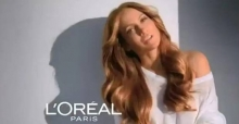 Consigue un color de pelo miel con L'oreal