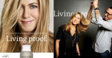 Jennifer Aniston presenta su champú Living Proof