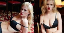 Lara Stone al natural y sin photoshop después de su embarazo