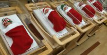 10 originales decoraciones navideñas en el hospital