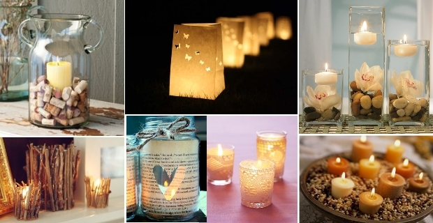 Ambientes decorar com velas for Decoracion del hogar con velas