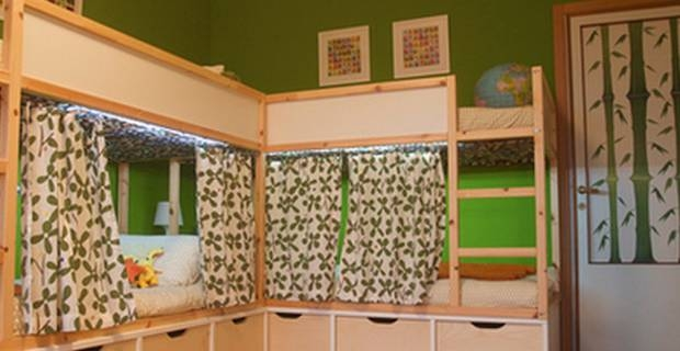 Cortinas ikea for Estores ikea infantiles
