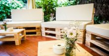 Muebles chill out hechos con palets de madera