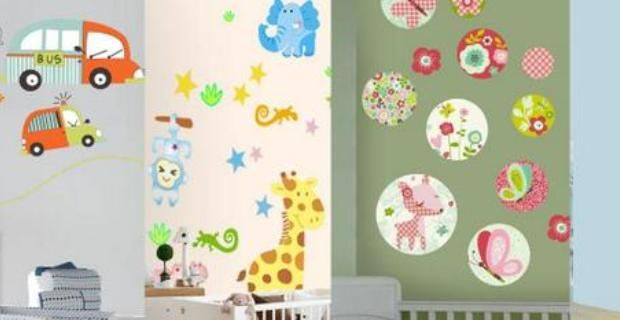 C mo decorar con pegatinas para la pared for Donde venden stickers para pared