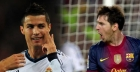Barcelona Real Madrid: Messi y Ronaldo de otro mundo