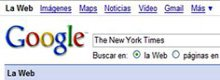 Google podría comprar The New York Times