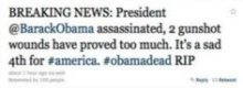 Fox News publica en Twitter la muerte de Obama
