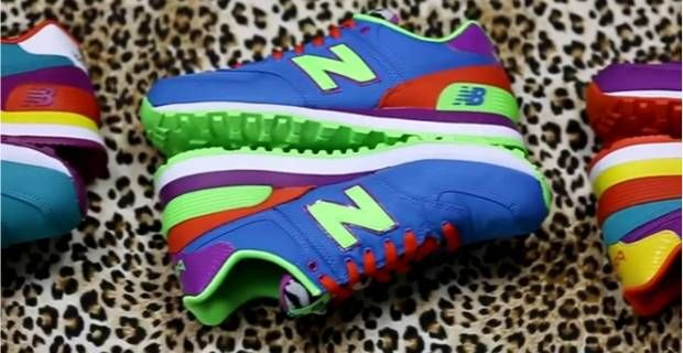 new balance mujer multicolor