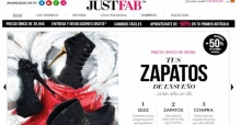 Justfab zapatos a la carta