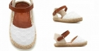Las sandalias de bebe en crochet son tendencia