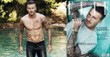 David Beckham: un icono en Elle UK