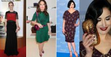 January Jones, Salma Hayek y Dita Von Teese: look de la semana