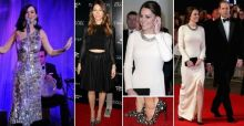 Katy Perry, Jessica Biel y Kate Middleton: look de la semana