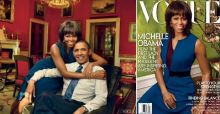 Michelle Obama nueva portada de la revista Vogue