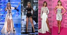 Los looks de Taylor Swift en el desfile de Victoria's Secret 2014