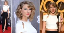Taylor Swift en los ACMA 2014, ¿cambio de look?