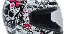 NZI ya vende cascos de moto de Monster High