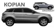 Landwind X7, la copia china del Range Rover Evoque
