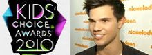 Los Kids Choice Awards 2010 premian a Taylor Lautner y Taylor Swift