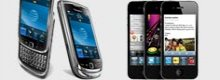 Comparamos los últimos terminales de Apple y BlackBerry